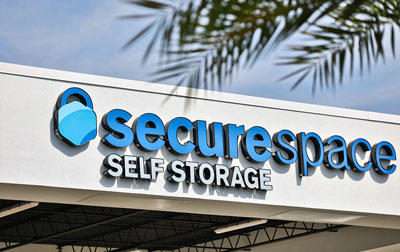 SecureSpace Climate Controlled Self Storage in Titusville, FL.