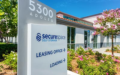 SecureSpace Climate Controlled Self Storage in Camarillo, CA.