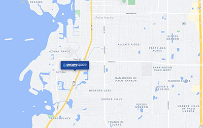 Conveniently located on U.S. Route 19 Alternate (Palm Harbor Blvd).