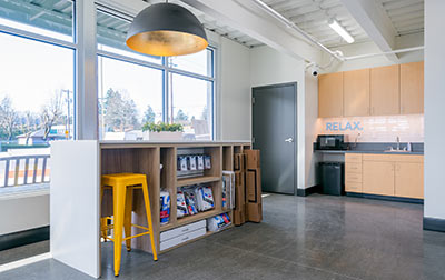 A welcoming workspace with free WiFi, packing supplies, boxes, and locks for your units.