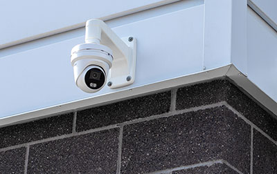 State of the art camera monitoring system.