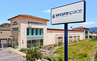 SecureSpace Self Storage in Spring Valley, CA.
