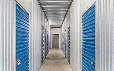 Indoor, clean, bright, and some heated storage units.