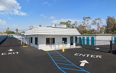 SecureSpace Self Storage in Rialto, CA.