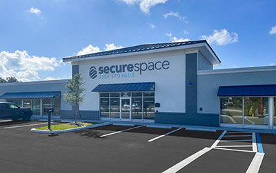 SecureSpace Climate Controlled Self Storage in Riverview, FL.