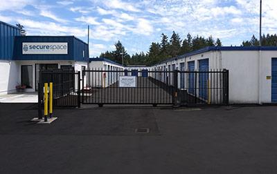 SecureSpace Self Storage in Lakewood, WA.